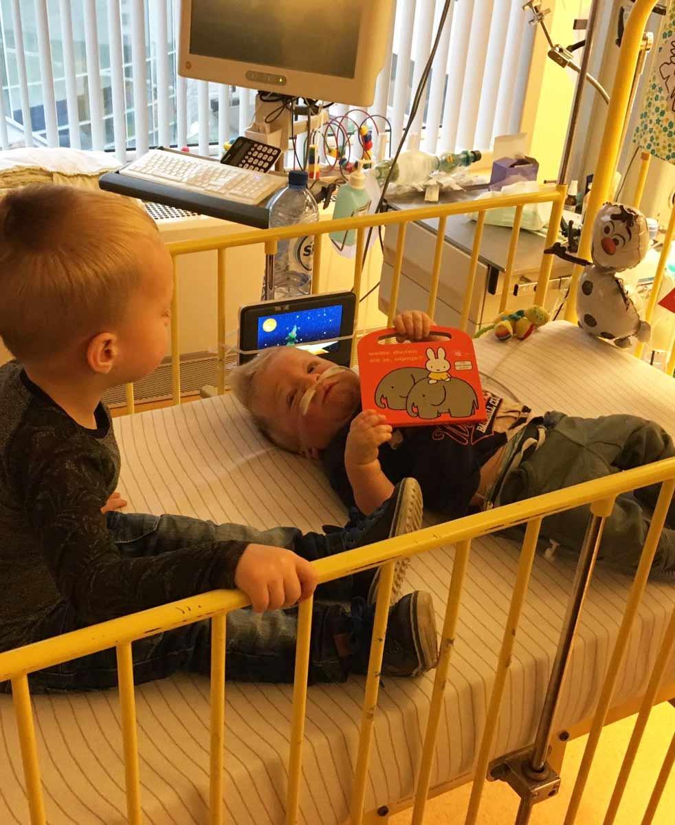 Liam ziekenhuis